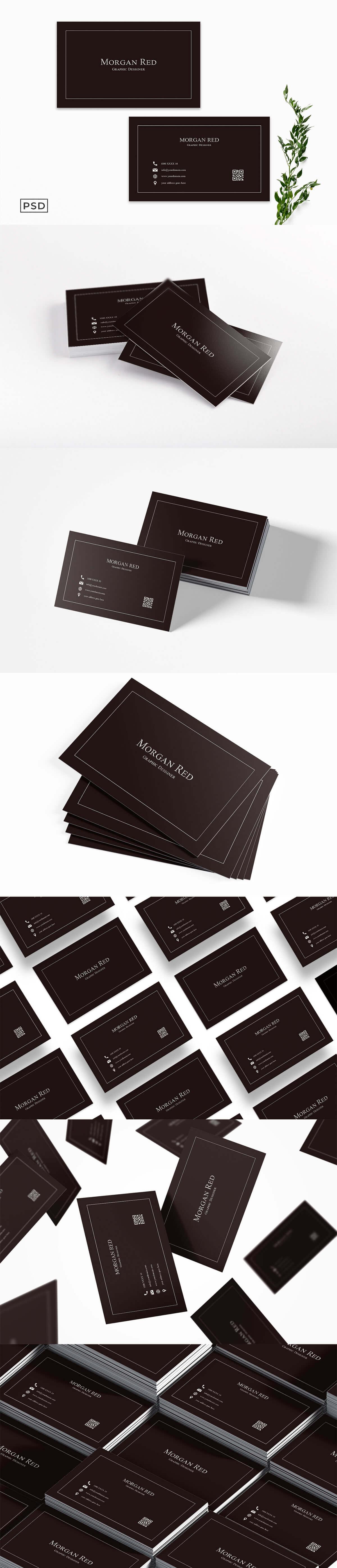 Sober Business Card Template V2
