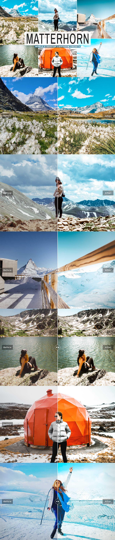 Free Matterhorn Lightroom Presets