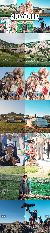 Free Mongolia Lightroom Presets