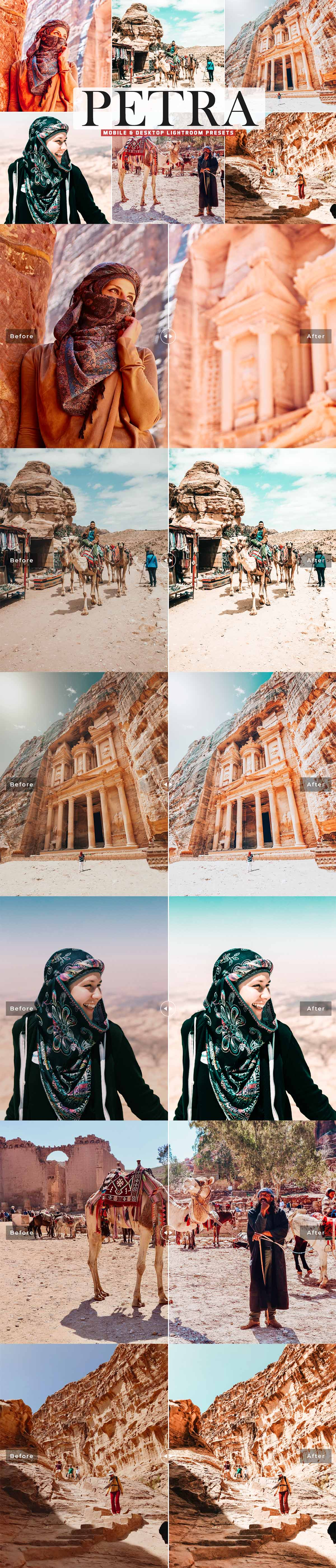 Free Petra Lightroom Presets