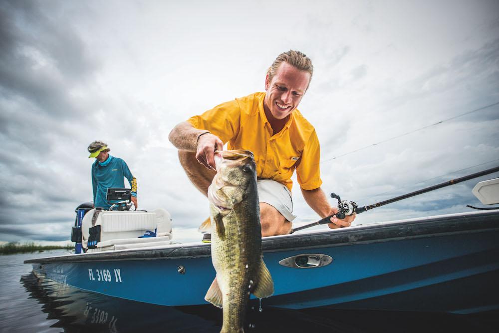 Lucas River Bass Fishing