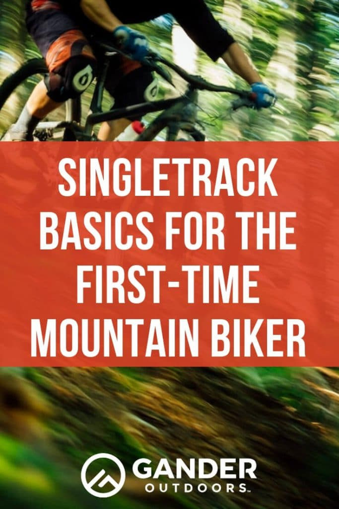 Singletrack basics for the first time mountain biker