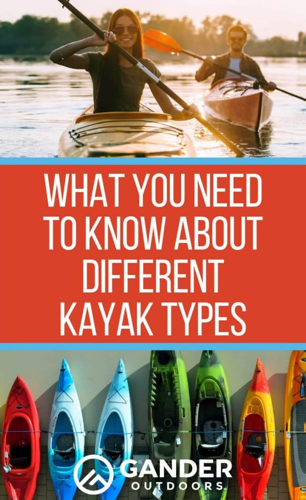 What you need to know about different kayak types