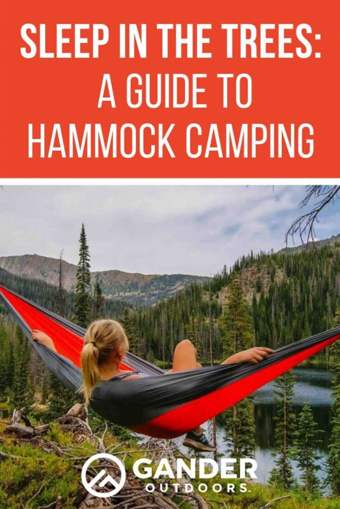 A guide to hammock camping