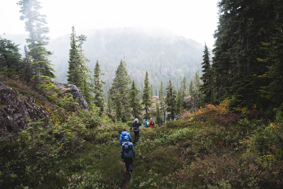 backpacking routes