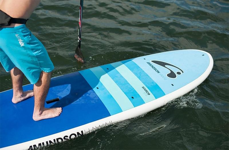 Paddleboard planing hull