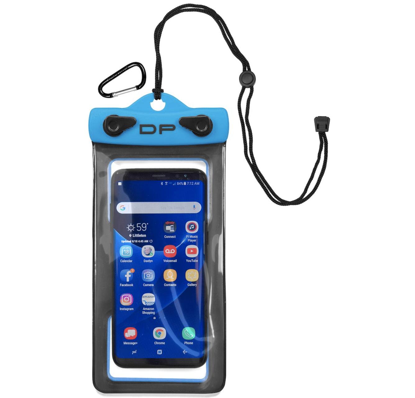 waterproof, floating phone case