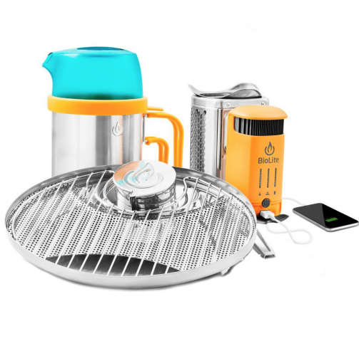 Camping Gift Ideas, Camp Stove, Portable Phone Charger