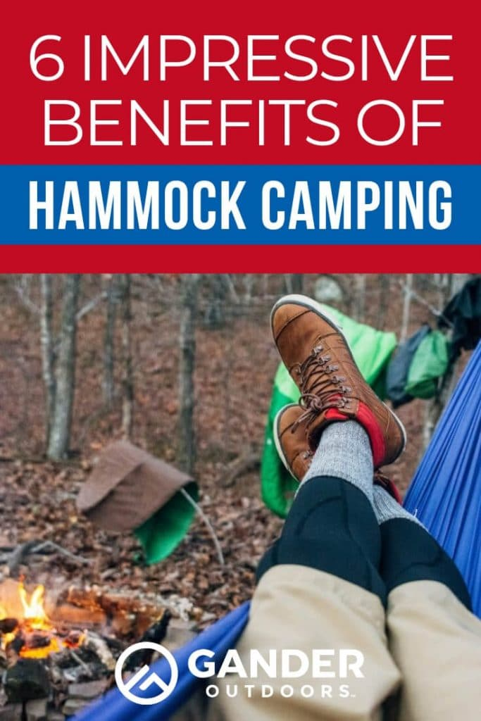 6 Impressive benefits of hammock camping