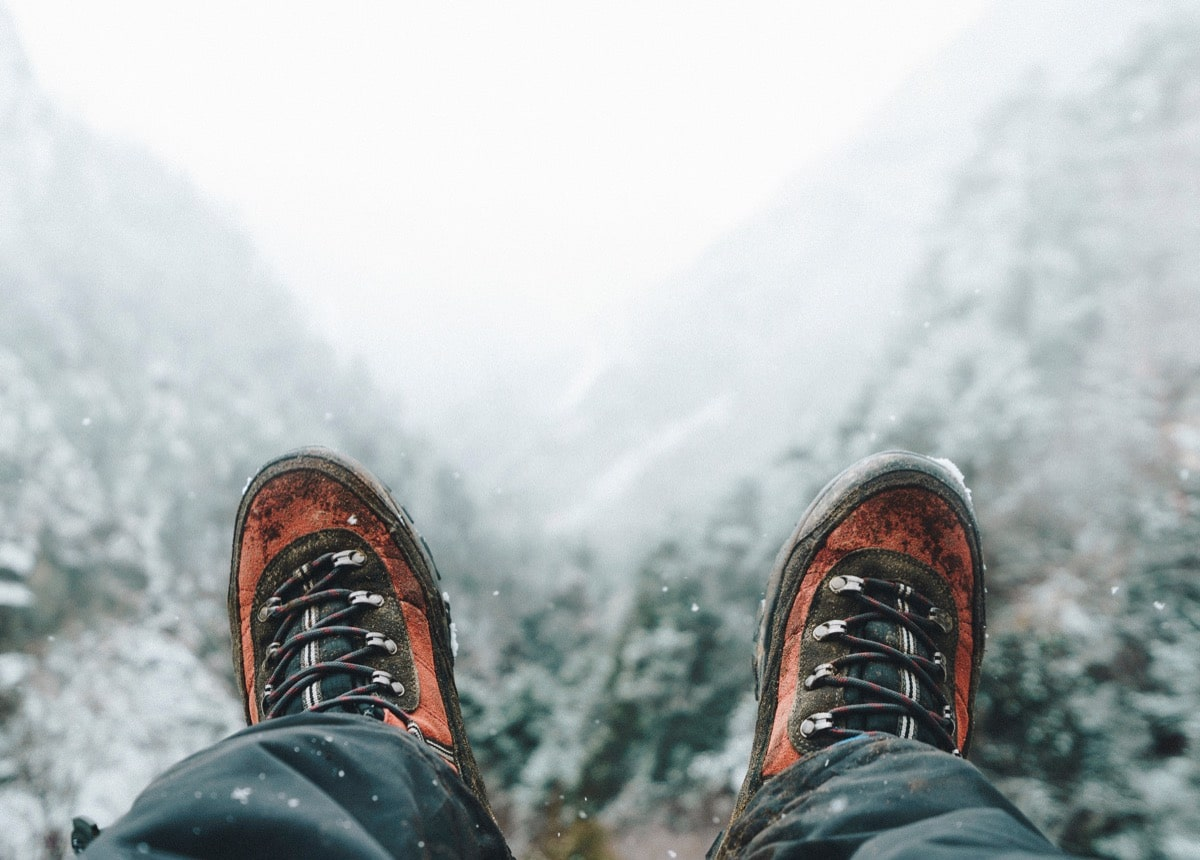 Winter Day Hike Footwear