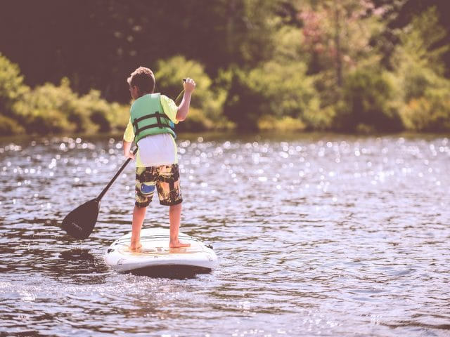 Tips for Paddleboarding with Kids