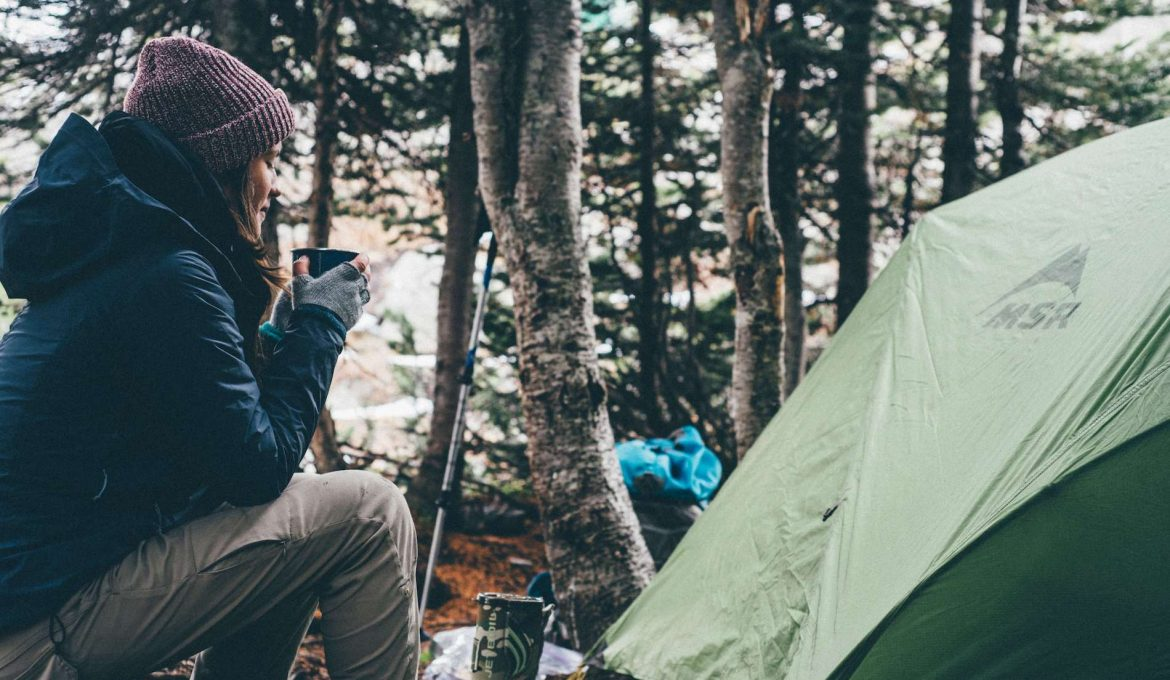 Essentials for camping in cold weather