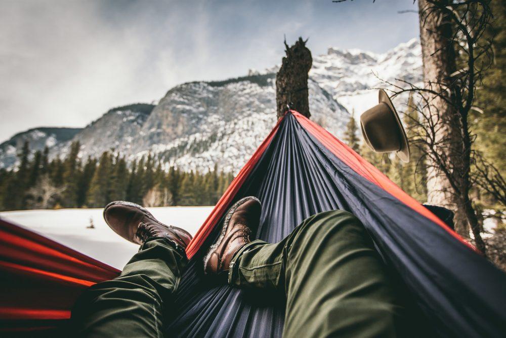 Hammock Camping in Winter Gear