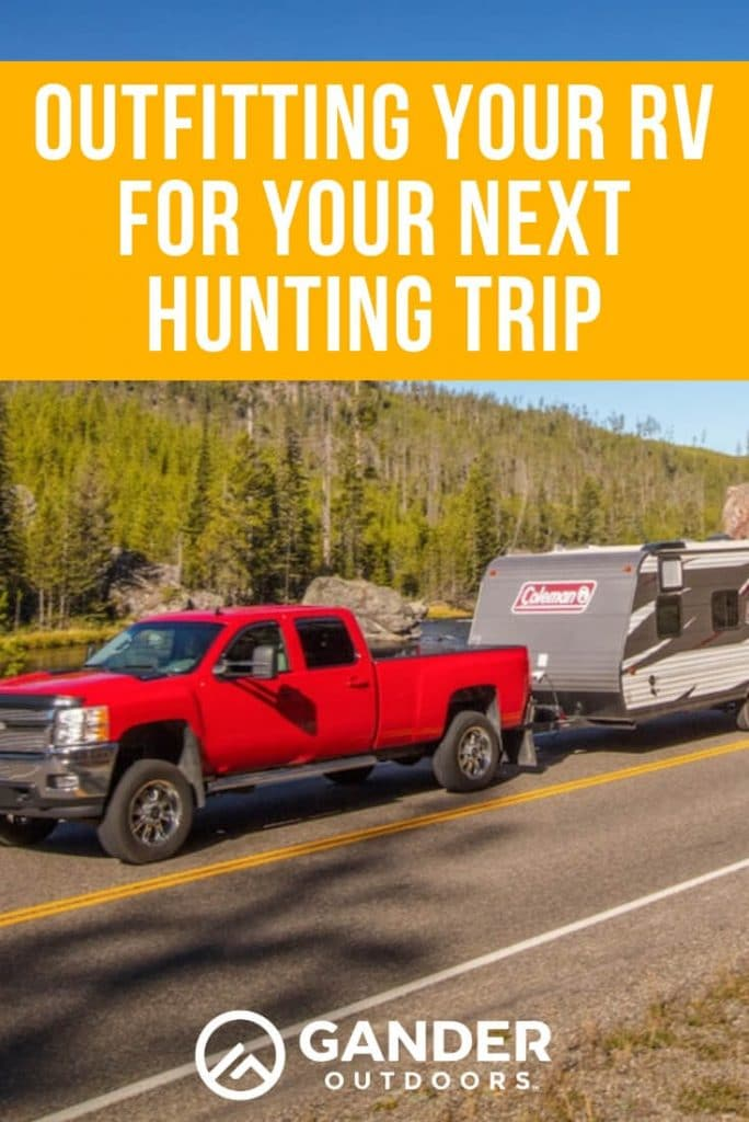 Outfitting your RV for your next hunting trip