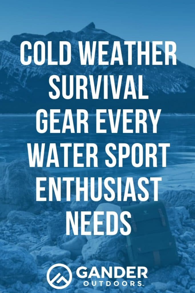 If you're brave enough to go out on the water in the winter, kudos to you. Just remember to always take some winter survival gear with you. Whether you have an accident and can't get home, get lost and have to put to shore somewhere unfamiliar, or get stuck out in some bad weather that wasn't supposed to be there, keeping this cold weather survival gear around will help make sure you get home safe and sound. #wintercamping #winterhiking #winteractivities #survivalgear #survivalskills