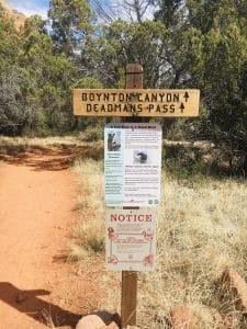 Boynton Canyon Trail Sedona Arizona