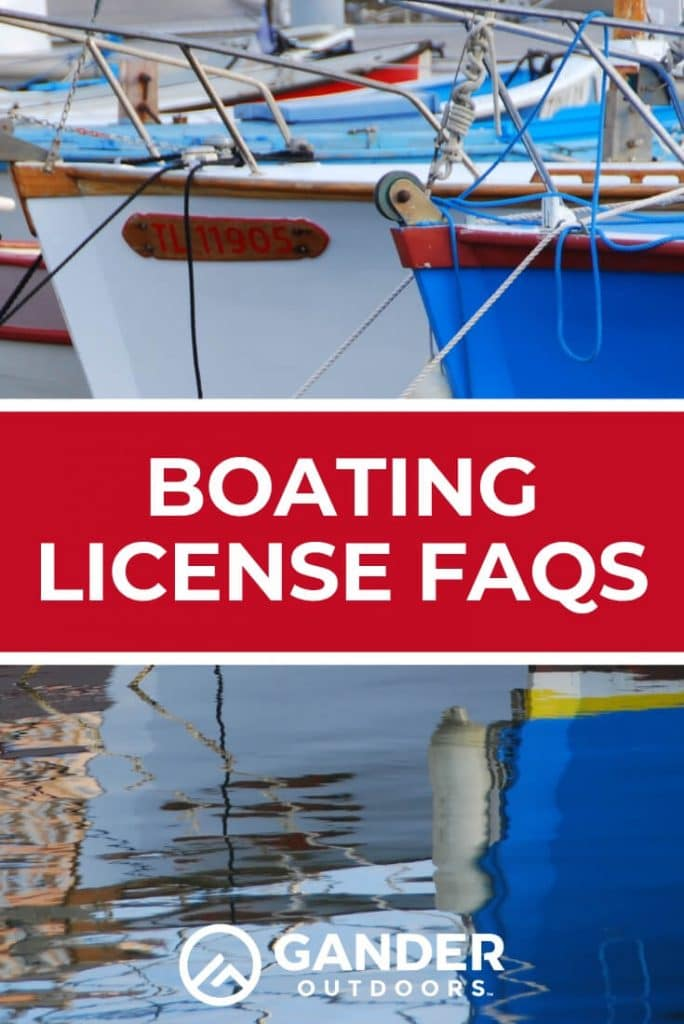 Boating license FAQs