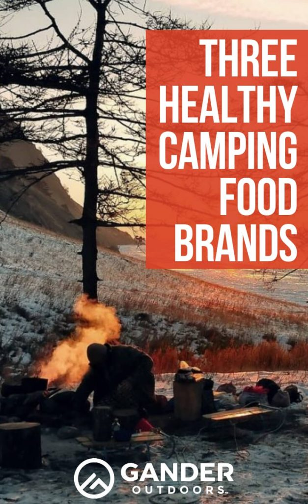 Three healthy camping food brands