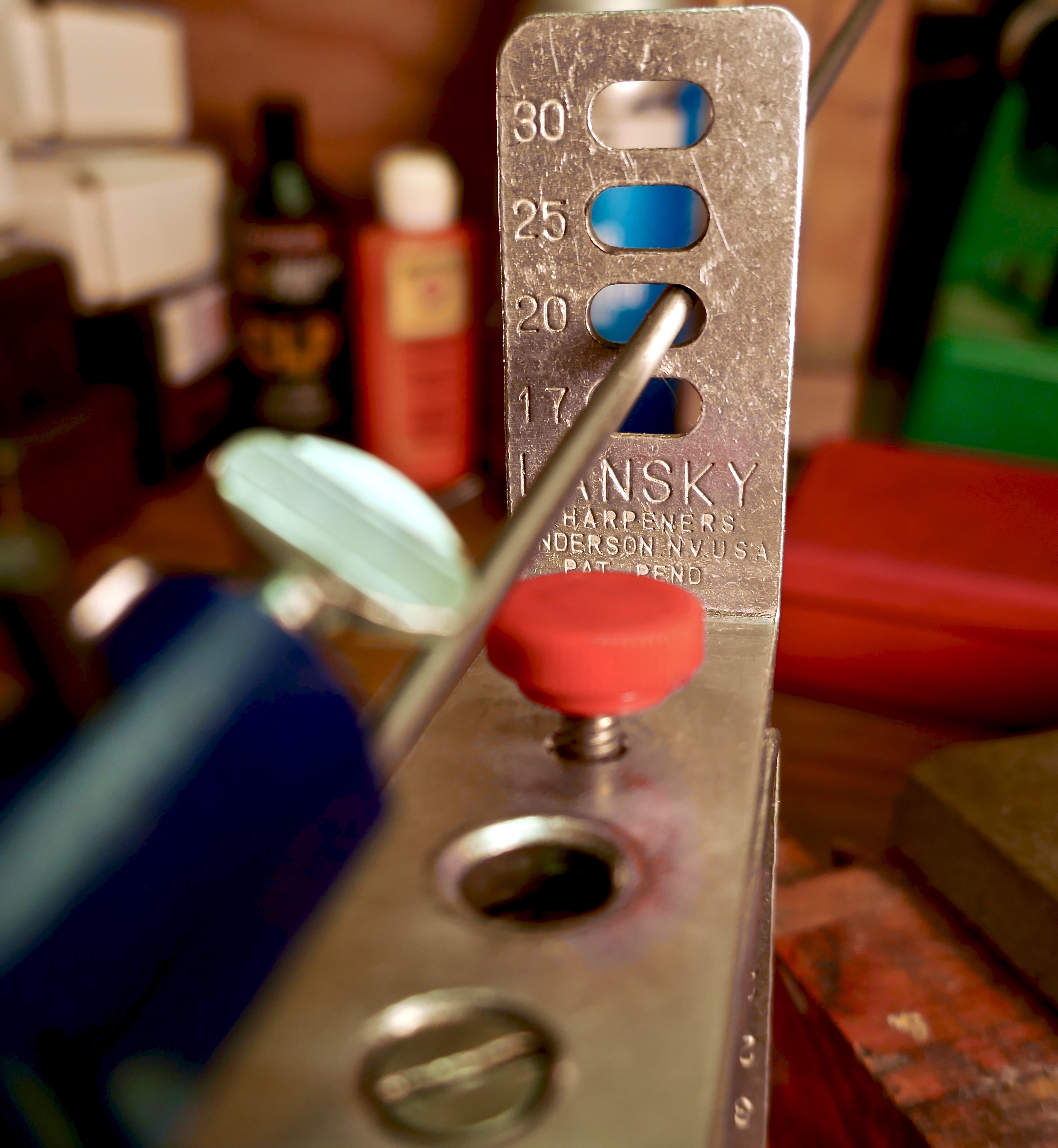 Lansky knife sharpening