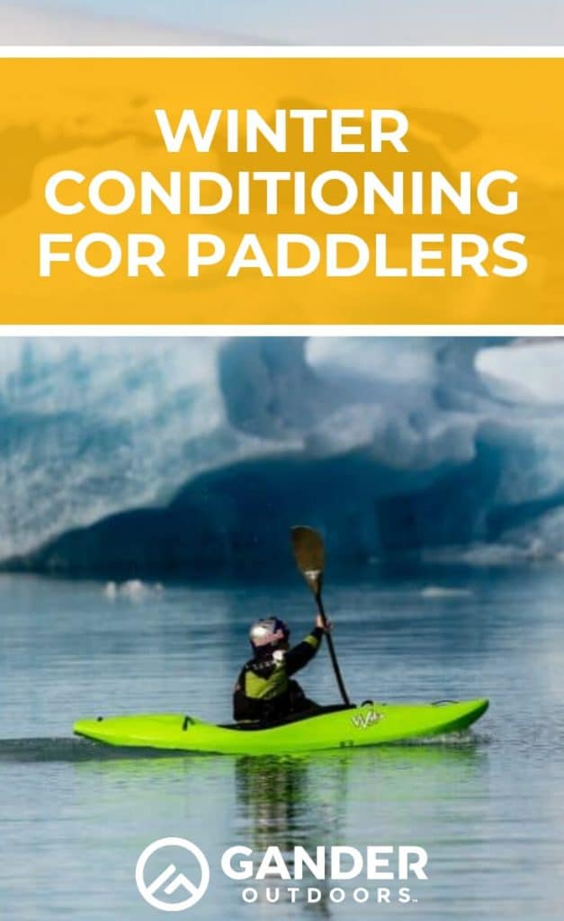 It's winter and your kayak or paddleboard is likely hibernating until spring. But that doesn't mean you need to hibernate, too! Now is a good time to do some strength and conditioning to make sure you're in peak paddle condition when warmer weather returns! Incorporating one to three strength workouts per week can have significant impact on your overall health and your paddling ability. #workouts #kayaking #paddleboarding #wintersports