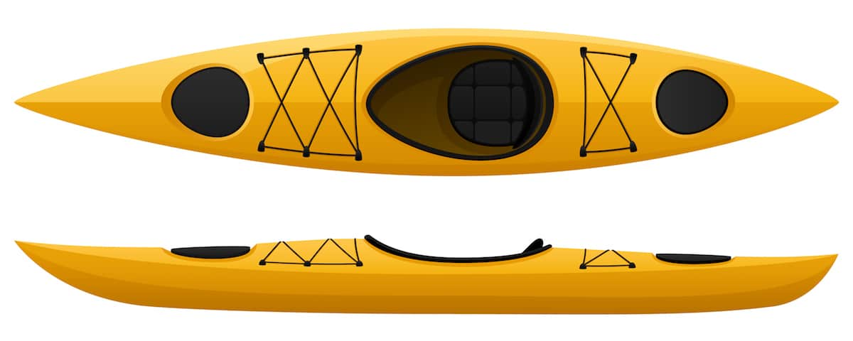 Kayak compartments