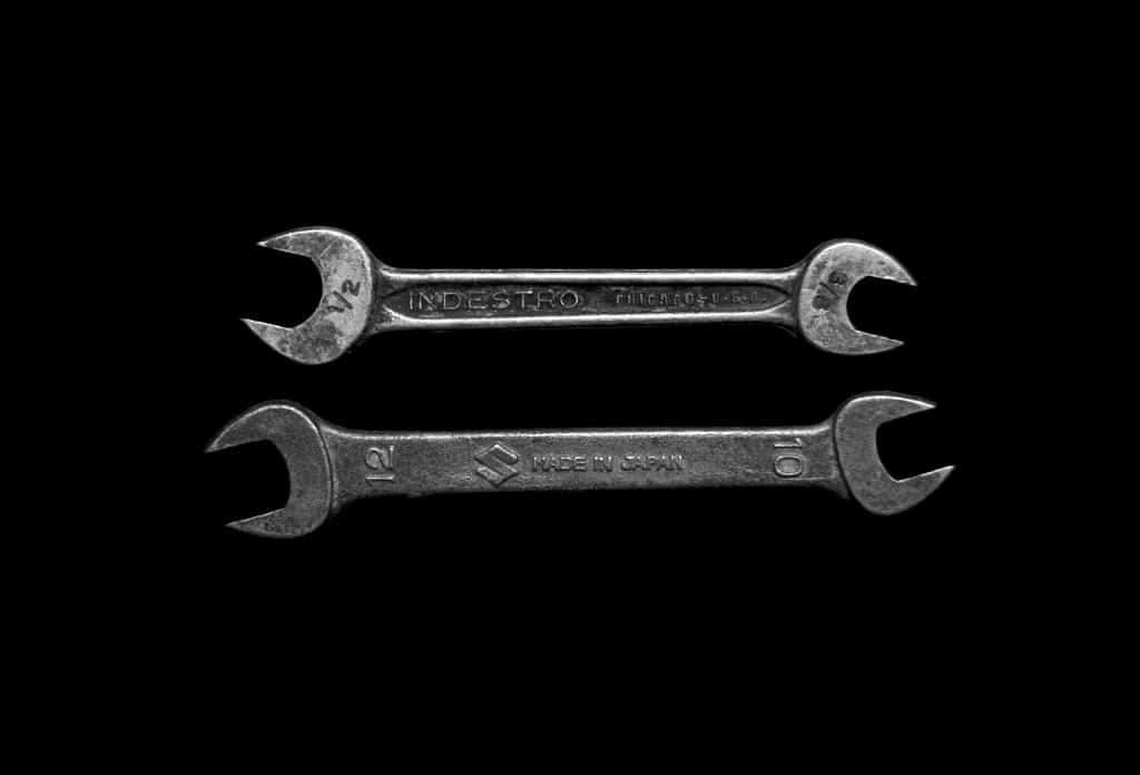 Wrenches for fixing your bike's brakes