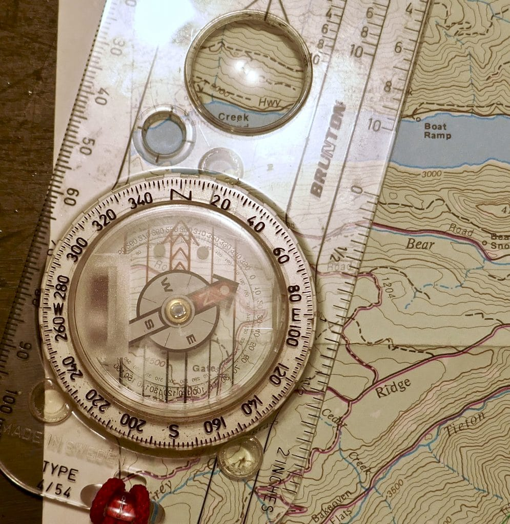 Finding Your Way in the Wild – Map and Compass Basics