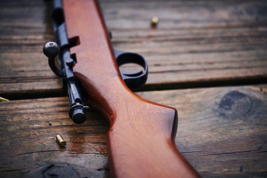 22 caliber rifle