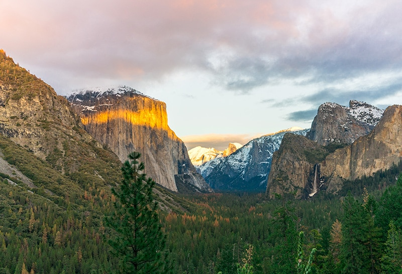 Spring camping is amazing at the Yosemite National Park