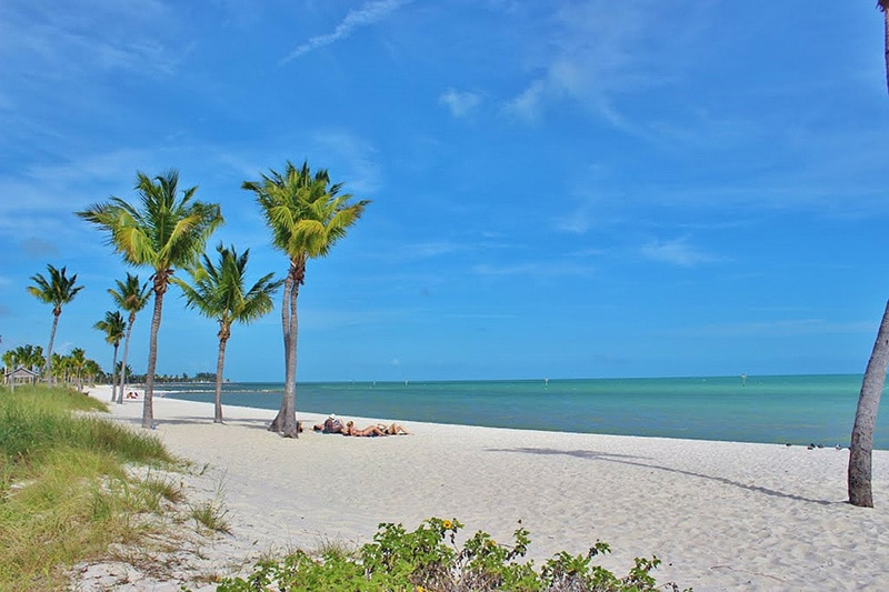 Spring camping is amazing at the Bahia Honda State Park