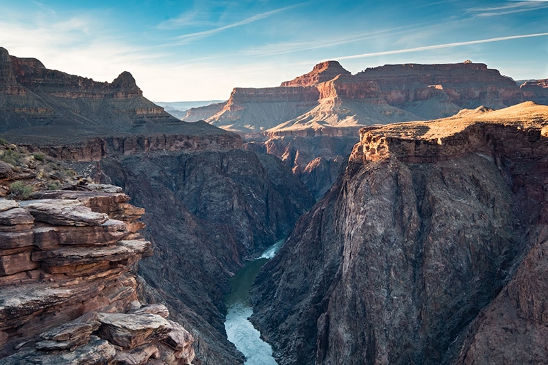 Spring camping is amazing at the Grand Canyon