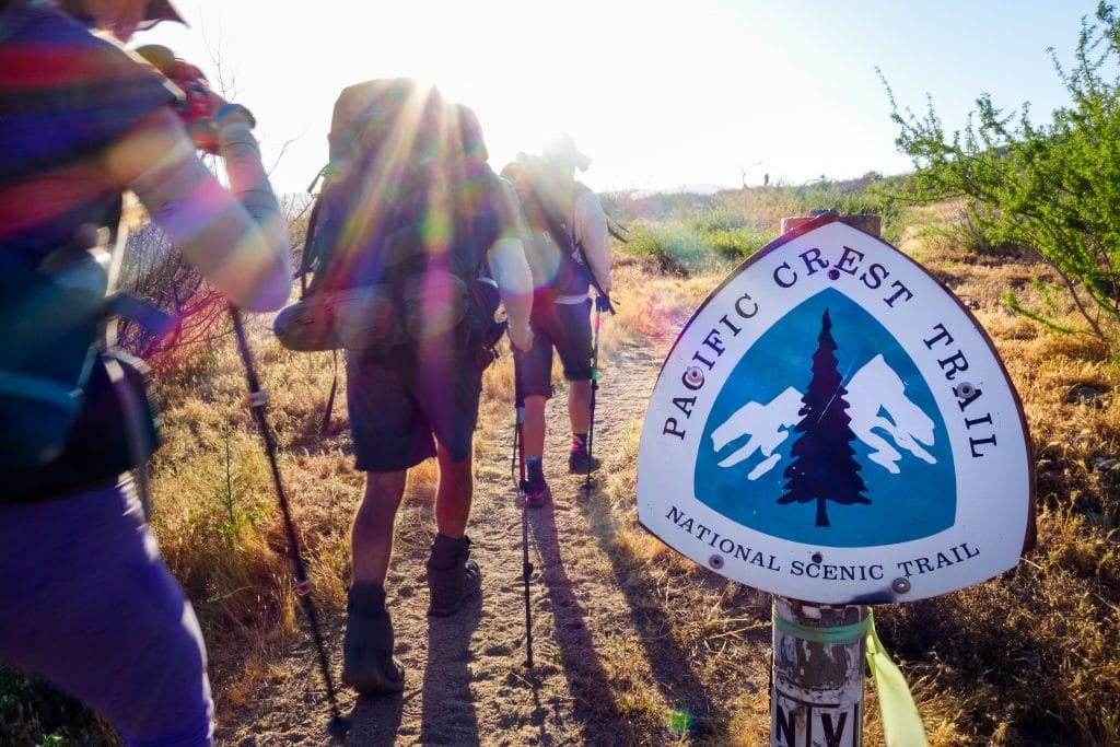 The Pacific Crest Trail is one of the most famous National Scenic Trails in the U.S.