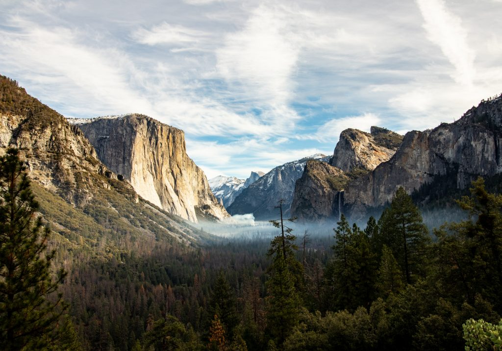 The John Muir Trail takes you from Yosemite Valley in Yosemite National Park to Mount Whitney.