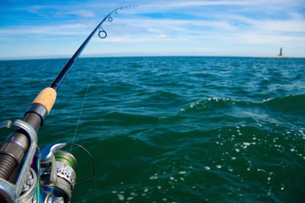 Fishing on Ontario