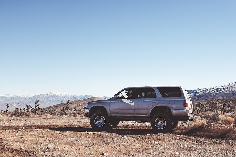 Getting to a 4x4 campsite with and off road SUV in California