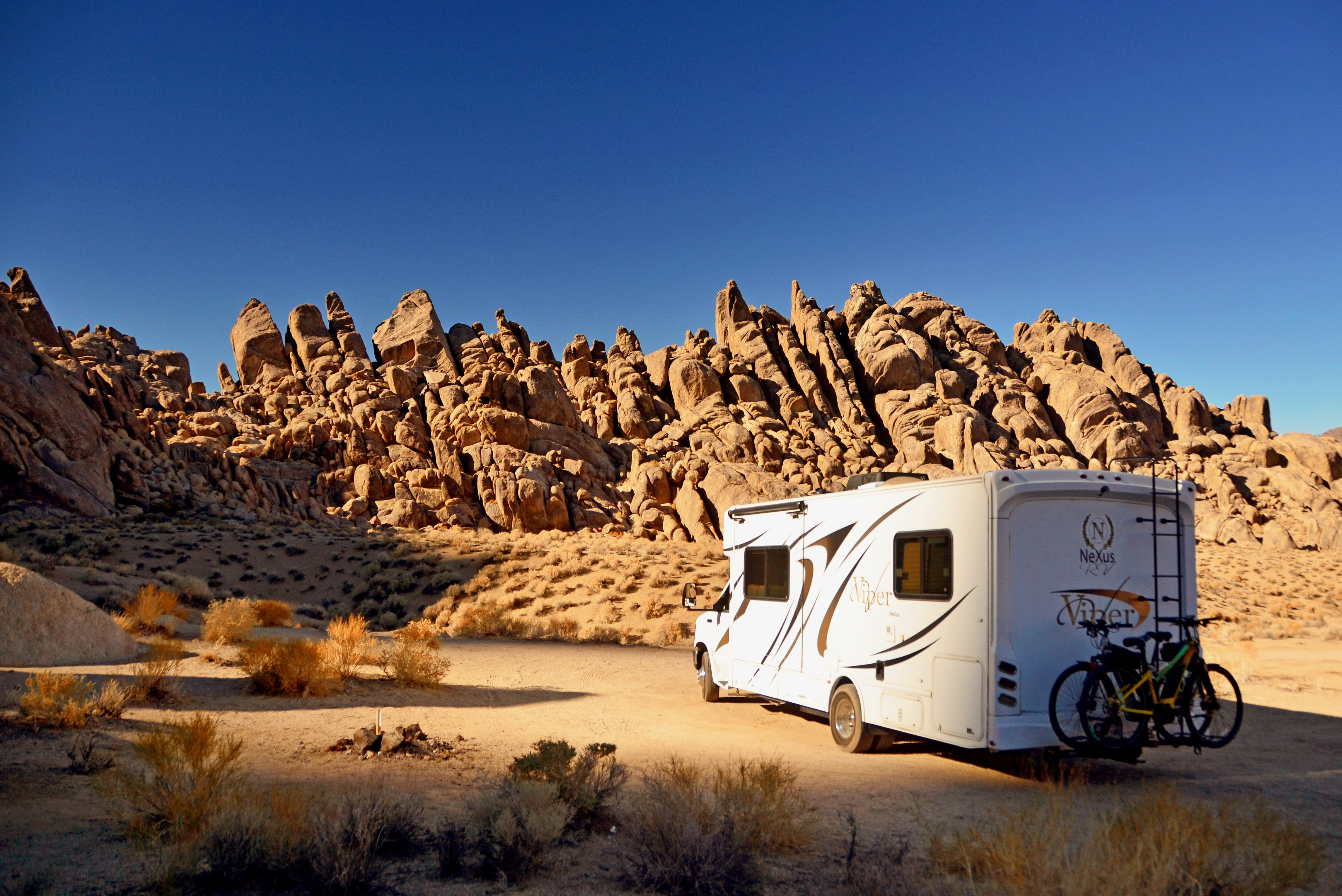 Choosing your RV campsite