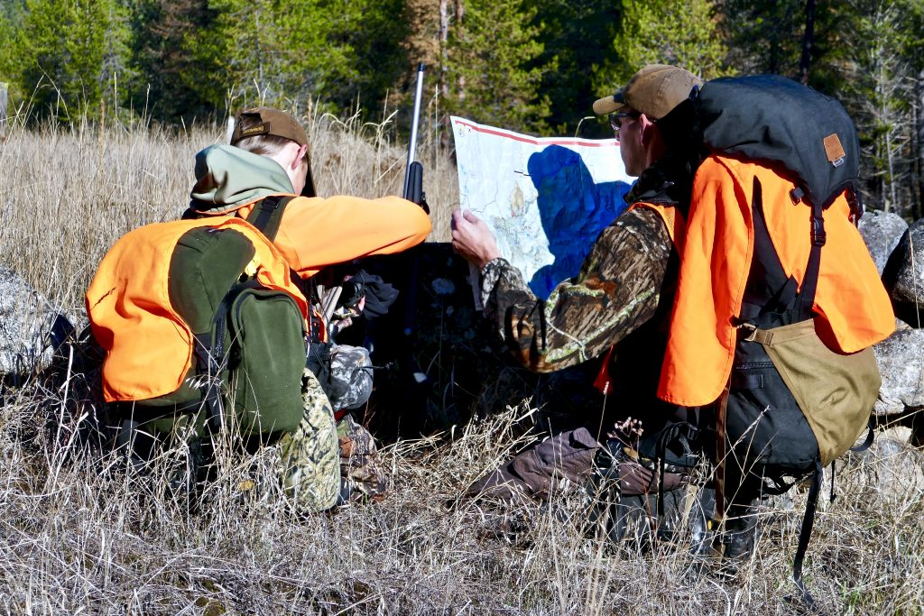 Teaching navigation in the backcountry