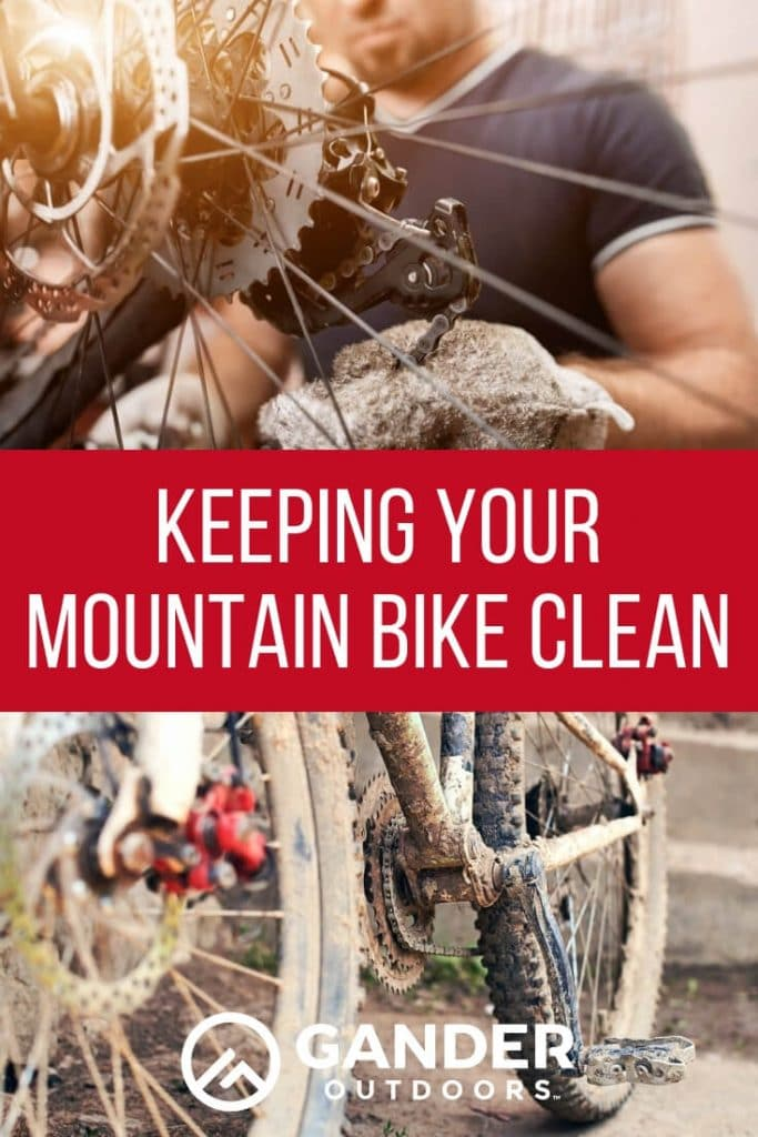 Keeping your mountain bike clean