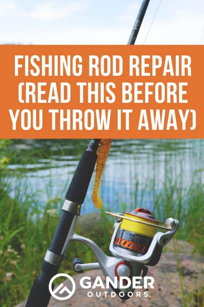 Fishing rod repair - read this before you throw it away