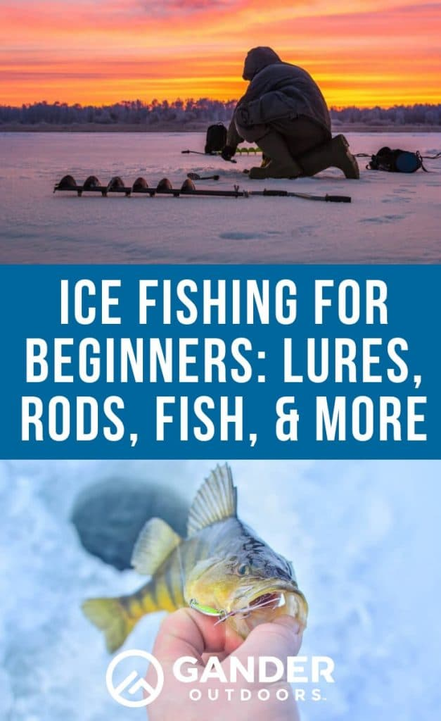 Ice fishing for beginners - lures, rods, fish, and more