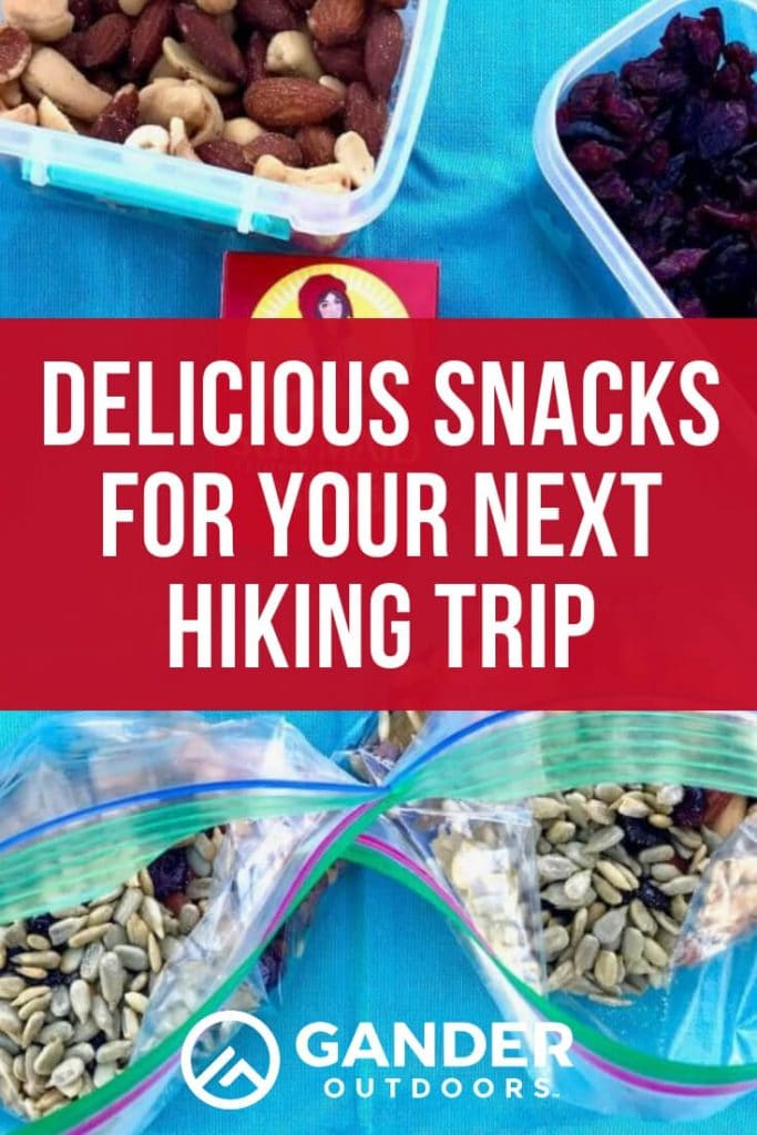 Delicious snacks for your next hiking trip
