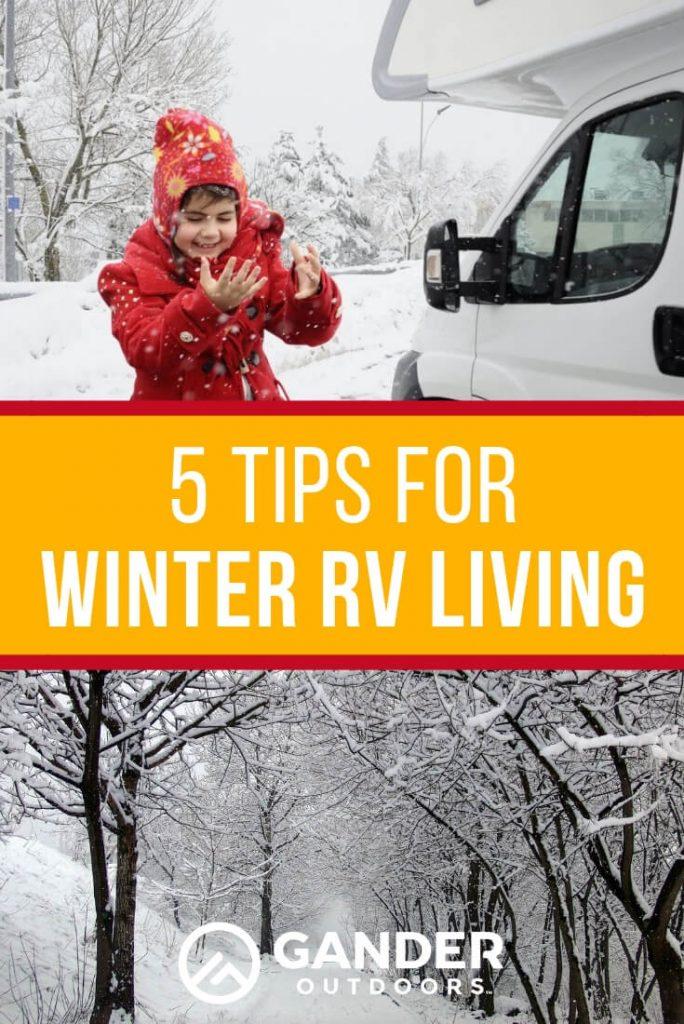 5 tips for winter RV living