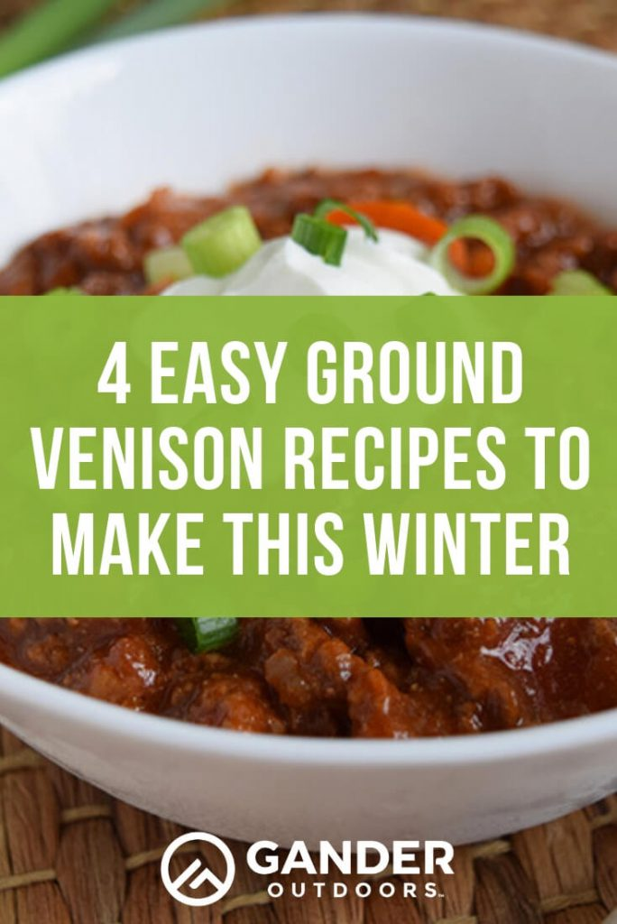 4 easy ground venison recipes to make this winter