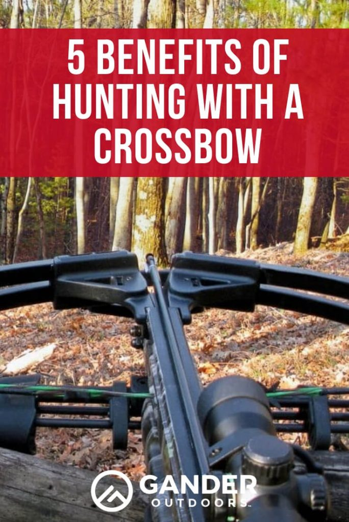 5 benefits of hunting with a crossbow