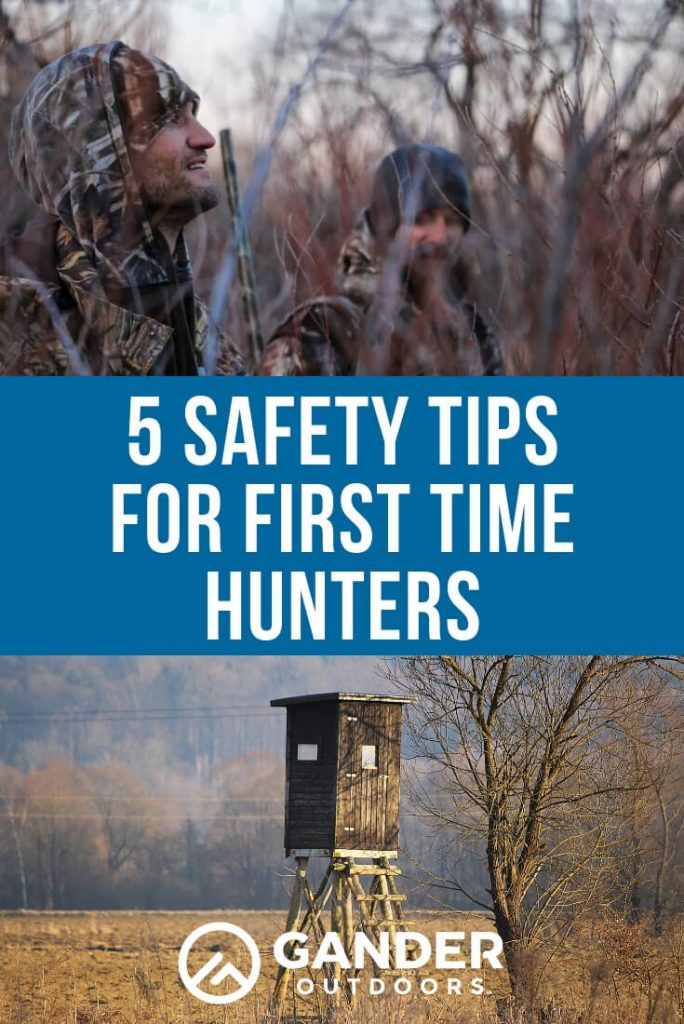 5 safety tips for first time hunters