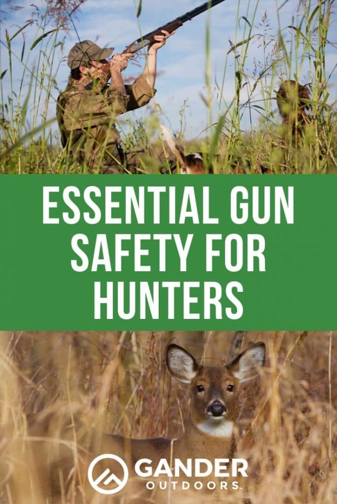 Essential gun safety for hunters
