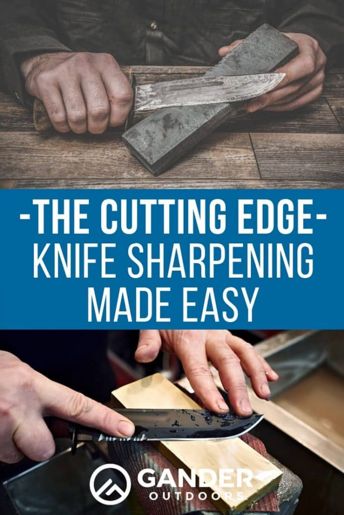 The cutting edge - knife sharpening made easy