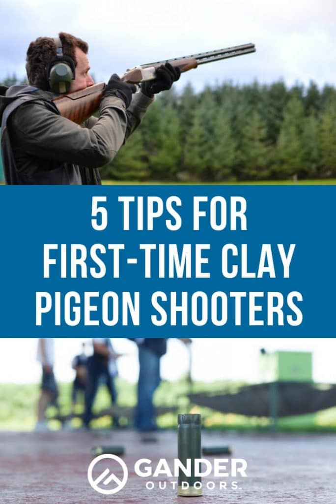 5 tips for first time clay pigeon shooters