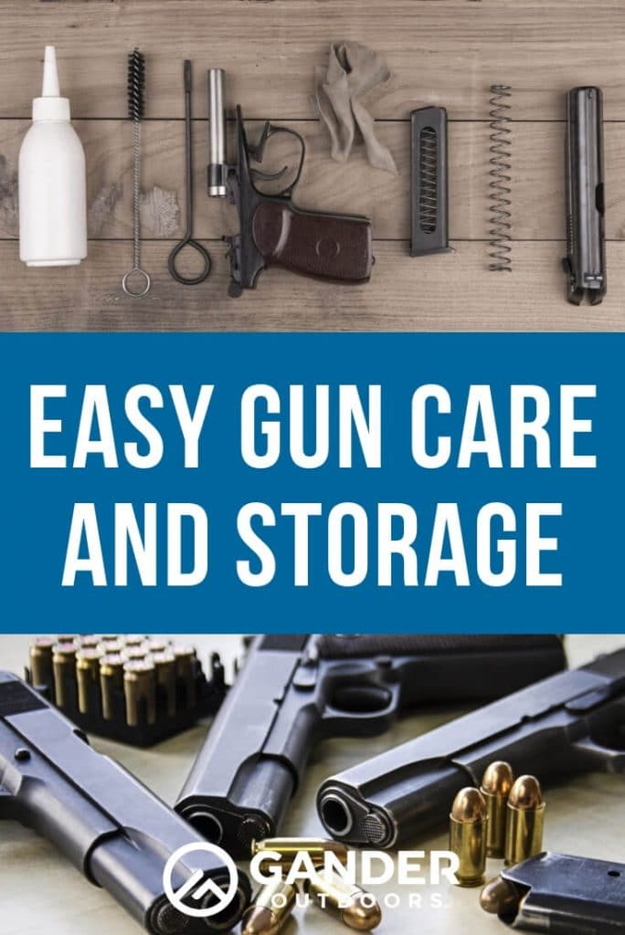 Easy gun care and storage