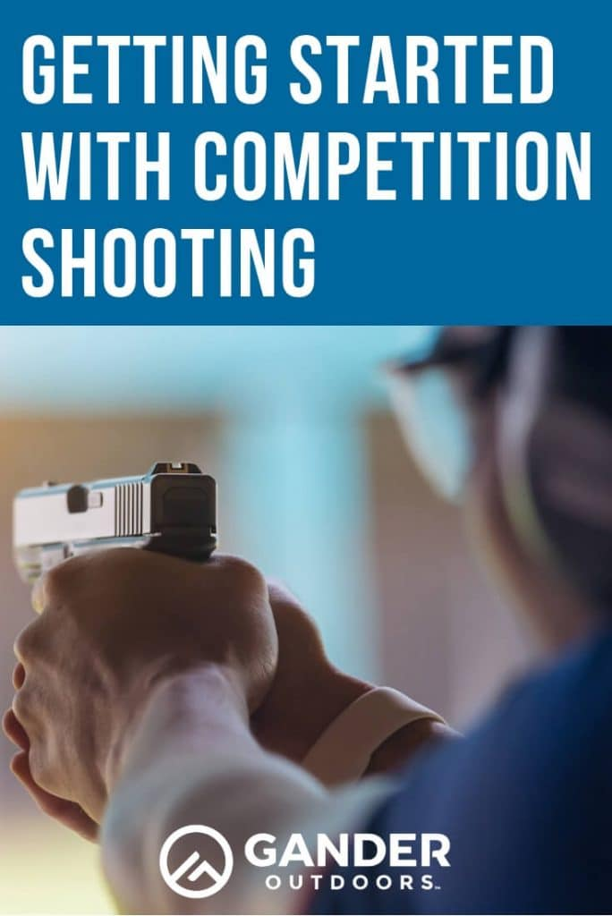 Getting started with competition shooting